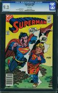 Modern Age (1980-Present):Superhero, Superman #388 (DC) CGC NM- 9.2 White pages.