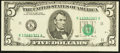Error Notes:Miscellaneous Errors, Fr. 1979-K $5 1988 Federal Reserve Note. Very Fine-Extremely Fine.....