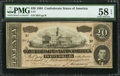Confederate Notes:1864 Issues, T67 $20 1864 PF-11 Cr. 511....
