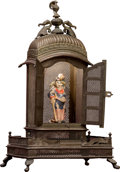 Asian:Other, A Hindu Brass Table Shrine. 26 x 15-1/2 x 11-1/4 inches (66.0 x39.4 x 28.6 cm). ...