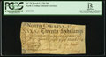 Colonial Notes:North Carolina, North Carolina March 9, 1754 20s PCGS Apparent Fine 15.. ...