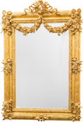 Decorative Arts, French, A Louis XVI-Style Giltwood Mirror Frame. 54 h x 38 w x 3 d inches(137.2 x 96.5 x 7.6 cm). ...