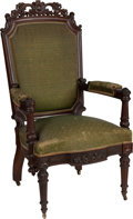 Political:Presidential Relics, Zachary Taylor: Personally-Owned Presidential Chair....