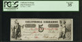 Obsoletes By State:Indiana, (Washington, IN)- California Exchange 5¢ May 1, 1862 Wolka UNL. ...