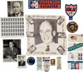 Political:Small Paper (1896-present), Adlai Stevenson: Assortment of Campaign Items and More....