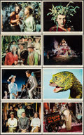 "Movie Posters:Fantasy, The 7 Faces of Dr. Lao (MGM, 1964). Color Photo Set of 8 (8"" X10""). Fantasy.. ... (Total: 8 Items)"
