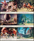 "Movie Posters:Science Fiction, Mysterious Island (Columbia, 1961). Color Photo Set of 12 (8"" X10""). Science Fiction.. ... (Total: 12 Items)"
