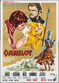 "Movie Posters:Musical, Camelot (Warner Brothers-Seven Arts, 1968). Italian 4 - Fogli (55""X 78""). Musical.. ..."