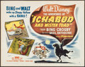 """Movie Posters:Animation, The Adventures of Ichabod and Mr. Toad (RKO, 1949). Half Sheet (22""""X 28"""") Style A. Animation.. ..."""