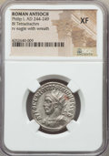 Ancients:Roman Provincial , Ancients: SYRIA. Antioch. Philip I (AD 244-249). BIL tetradrachm.NGC XF....