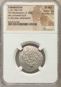 Ancients:Islamic, Ancients: TABARISTAN. Abbasid Governors. Anonymous (AH 164-177 / AD 780-793). AR hemidrachm (2.06 gm). NGC Choice AU 4/5 - 4/5....