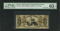 Fractional Currency:Third Issue, Fr. 1364 50¢ Third Issue Justice PMG Choice Uncirculated 63 EPQ.. ...