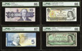 Canadian Currency: , A Quartet of Canadian Notes.. ... (Total: 4 notes)
