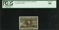 Fractional Currency:Second Issue, Fr. 1314SP 50¢ Second Issue Narrow Margin PCGS Gem New 66.. ...