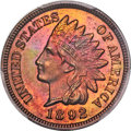 Proof Indian Cents, 1892 1C PR66+ Red and Brown PCGS. CAC....