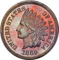 Proof Indian Cents, 1869 1C PR66 Red and Brown PCGS....