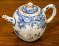 Other, A Chinese Blue and White Porcelain Teapot from the Hatcher Cargo, circa 1640. Marks: (four-character seal). 4-5/8 inches hig...