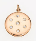 Estate Jewelry:Pendants and Lockets, Diamond, Gold Pendant-Locket. ...