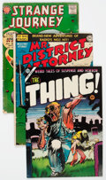 Golden Age (1938-1955):Miscellaneous, Comic Books - Assorted Golden and Silver Age Comics Group of 13 (Various Publishers, 1960s-70s) Condition: Average VG+.... (Total: 13 Comic Books)