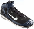 Baseball Collectibles:Publications, 2006 Robinson Cano Game Worn, Signed Cleat. ...