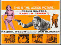 "Movie Posters:Crime, Lady in Cement (20th Century Fox, 1968). British Quad (30"" X 40"").Crime.. ..."