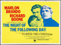 """Movie Posters:Crime, The Night of the Following Day & Other Lot (Universal, 1968).British Quads (2) (30"""" X 40""""). Crime.. ... (Total: 2 Items)"""