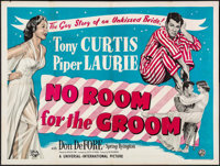 """No Room for the Groom & Other Lot (Universal International, 1952). British Quads (2) (30"""" X 40""""). Comedy..."""