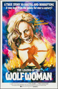"""Movie Posters:Horror, Werewolf Woman (Dimension, 1977). One Sheet (27"""" X 41""""). Horror. Alternate Title: The Legend of the Wolfwoman.. ..."""
