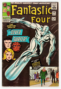 Fantastic Four #50 (Marvel, 1966) Condition: FN-