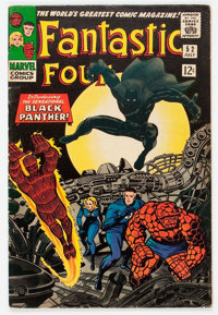 Fantastic Four #52 (Marvel, 1966) Condition: VG/FN