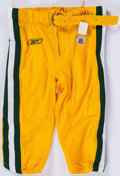 Football Collectibles:Uniforms, Circa 2009 Green Bay Packers Game Issued Pants. ...