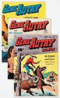 Golden Age (1938-1955):Western, Gene Autry Comics Group of 27 (Fawcett and Dell, 1943-51)Condition: Average VG.... (Total: 27 Comic Books)