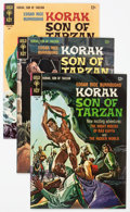 Silver Age (1956-1969):Adventure, Korak, Son of Tarzan File Copies Group of 25 - Slobodian Pedigree (Gold Key, 1966-77) Condition: Average NM-.... (Total: 25 Comic Books)