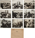 Photography:Official Photos, Clarence Darrow: Leopold-Loeb Murder Case Trial Photos. ... (Total:9 Items)