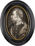Political:3D & Other Display (pre-1896), Zachary Taylor: Miniature Portrait....