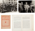 Miscellaneous:Ephemera, Clarence Darrow: Celebrated Labor Cases.... (Total: 4 Items)