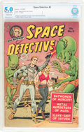 Golden Age (1938-1955):Science Fiction, Space Detective #2 (Avon, 1951) CBCS Conserved VG/FN 5.0 Off-whiteto white pages....