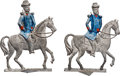 Political:3D & Other Display (pre-1896), James A. Garfield and Winfield S. Hancock: Rare Toy Soldiers Representing these Opposing 1880 Candidates....