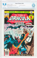 Bronze Age (1970-1979):Horror, Tomb of Dracula #50 (Marvel, 1976) CBCS NM/MT 9.8 White pages....