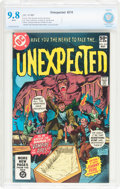 Modern Age (1980-Present):Horror, Unexpected #210 (DC, 1981) CBCS NM/MT 9.8 White pages....