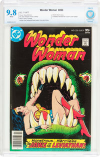Wonder Woman #233 (DC, 1977) CBCS NM/MT 9.8 White pages