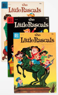 Silver Age (1956-1969):Humor, Four Color - Little Rascals File Copies Group of 8 (Dell, 1957-61) Condition: Average VF.... (Total: 8 Comic Books)