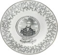 Political:3D & Other Display (pre-1896), William Henry Harrison: Battle of the Thames Plate. ...