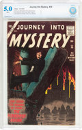 Silver Age (1956-1969):Horror, Journey Into Mystery #39 (Atlas, 1956) CBCS VG/FN 5.0 White pages....