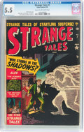 Golden Age (1938-1955):Horror, Strange Tales #7 (Atlas, 1952) CGC FN- 5.5 Cream to off-whitepages....