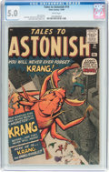 Silver Age (1956-1969):Horror, Tales to Astonish #14 (Marvel, 1960) CGC VG/FN 5.0 White pages....