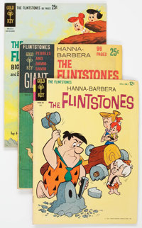The Flintstones Related Group of 14 (Gold Key, 1960s) Condition: Average VG/FN.... (Total: 14 Comic Books)