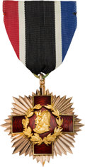 Militaria:Insignia, Order of the Founders and Patriots of America Gold Medal....