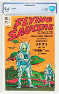 Silver Age (1956-1969):Science Fiction, Flying Saucers #5 File Copy (Dell, 1969) CBCS NM 9.4 White pages....