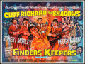 "Movie Posters:Rock and Roll, Finders Keepers (United Artists, 1966). British Quad (30"" X 40"").Rock and Roll.. ..."